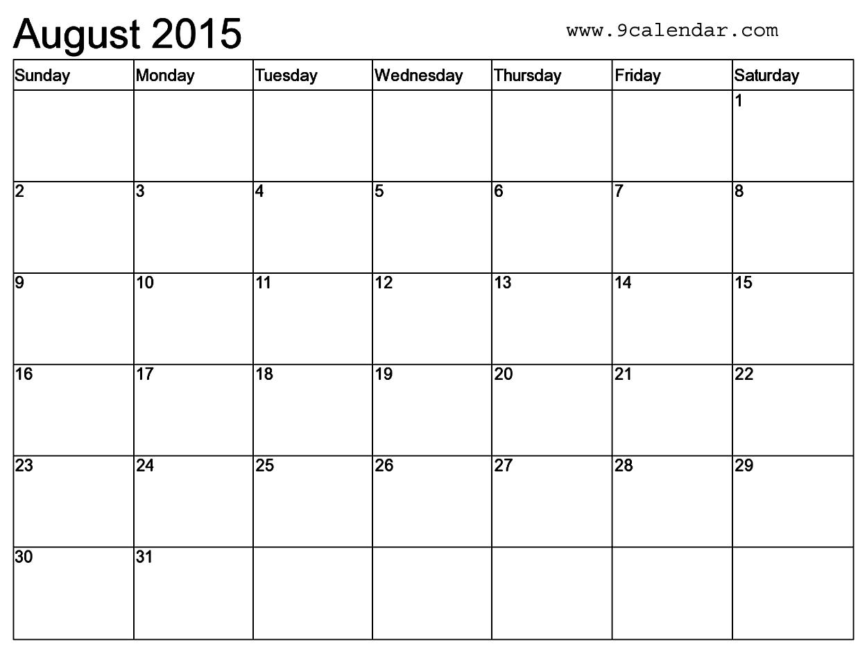 Editable Calendar Templates 2015 Fieldstationco  Xjb
