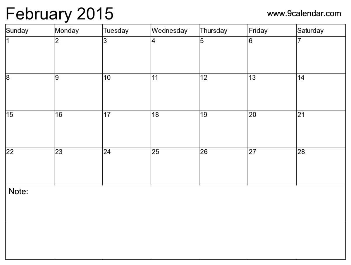 February 2016 Calendar 2017 Printable Calendar  Xjb