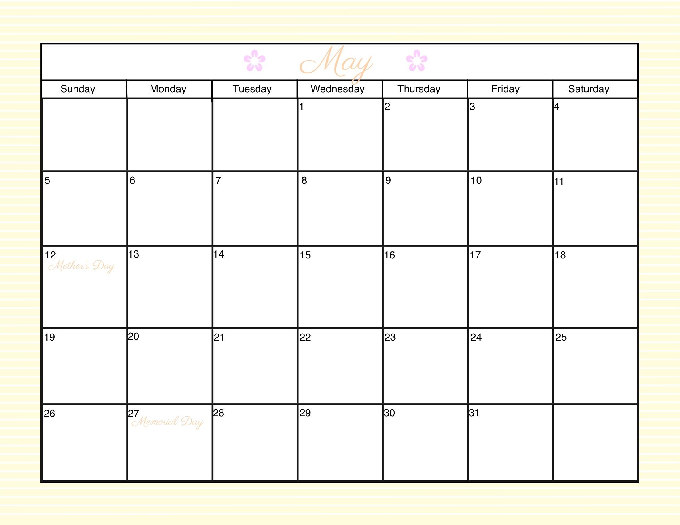 Free Calendar Print 2017 Printable Calendar3abry