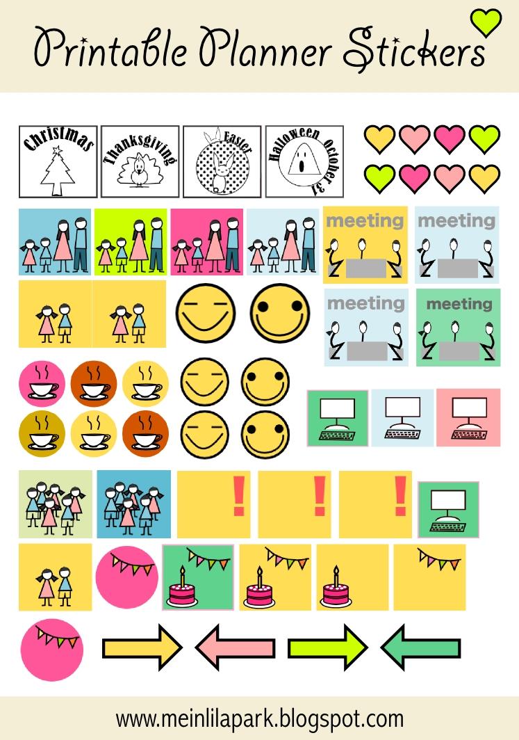 Free Printable Calendar Planner Stickers Ausdruckbare Agenda3abry