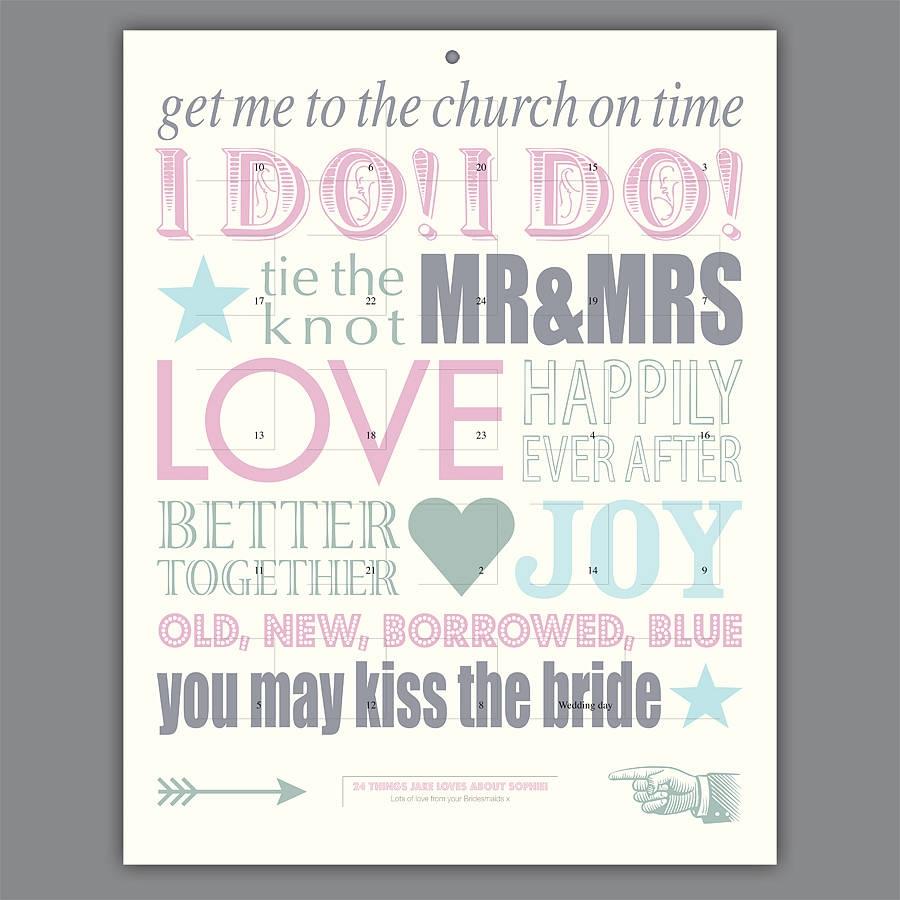 Funny Wedding Countdown Wedding Ideas  Xjb