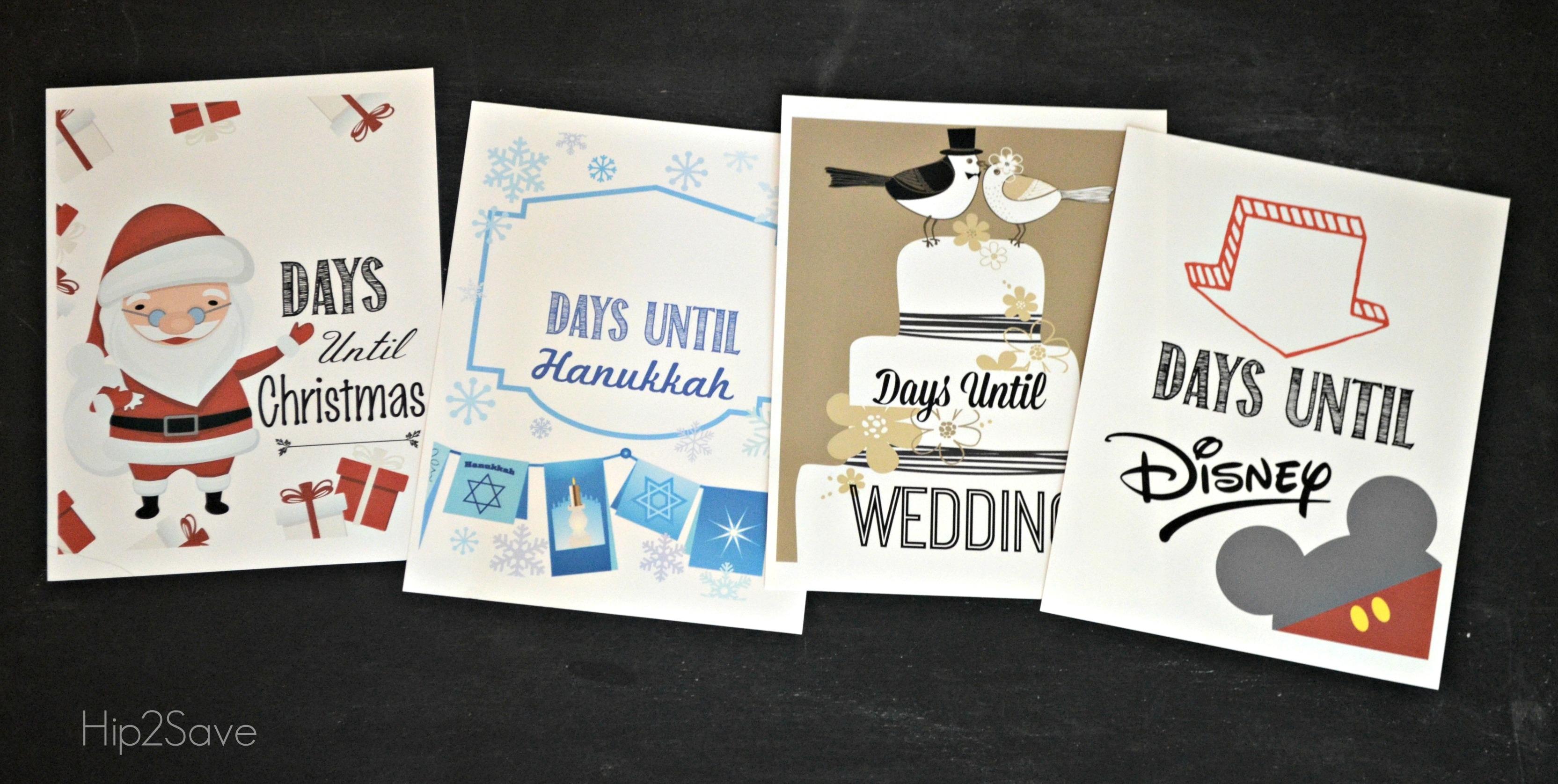 Homemade Christmas Countdown Free Printables For Christmas