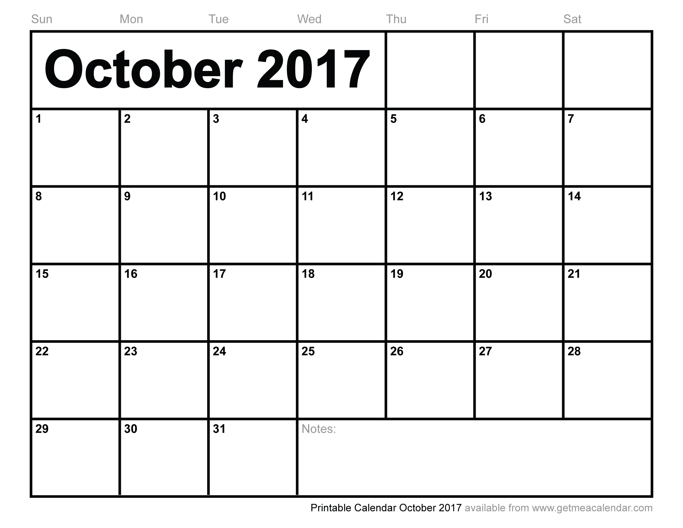 Image Result For Blank Monthly September October November 2017  Xjb