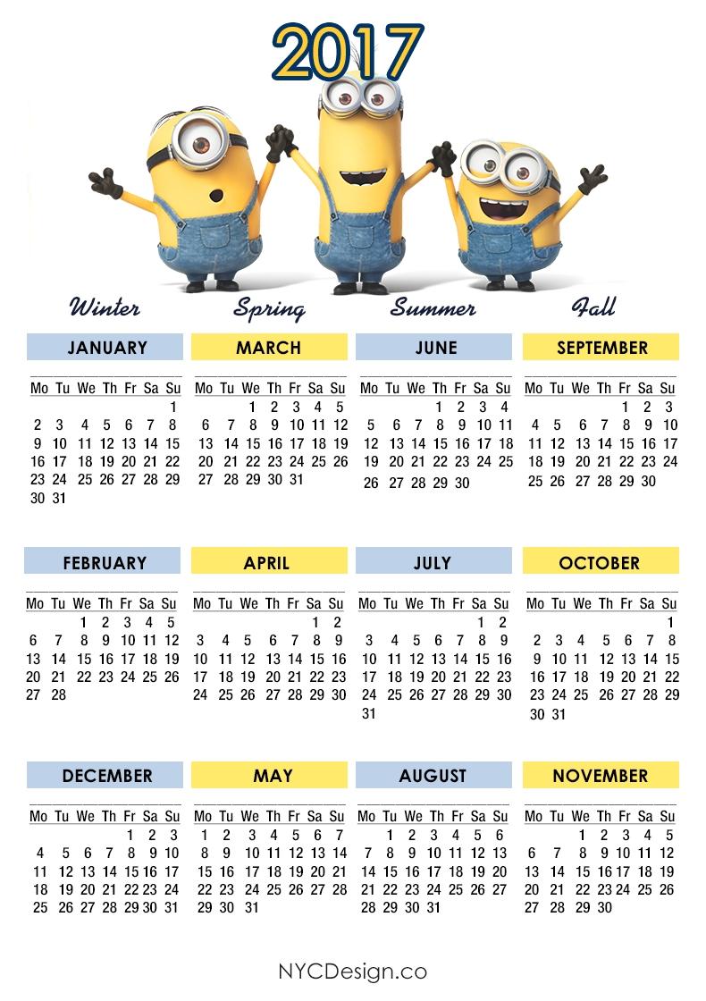 Kids Printable Calendar Headings Calendar Template 2018  Xjb