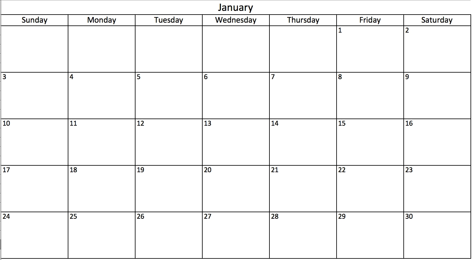 Make A 2017 Calendar In Excel Includes Free Template3abry