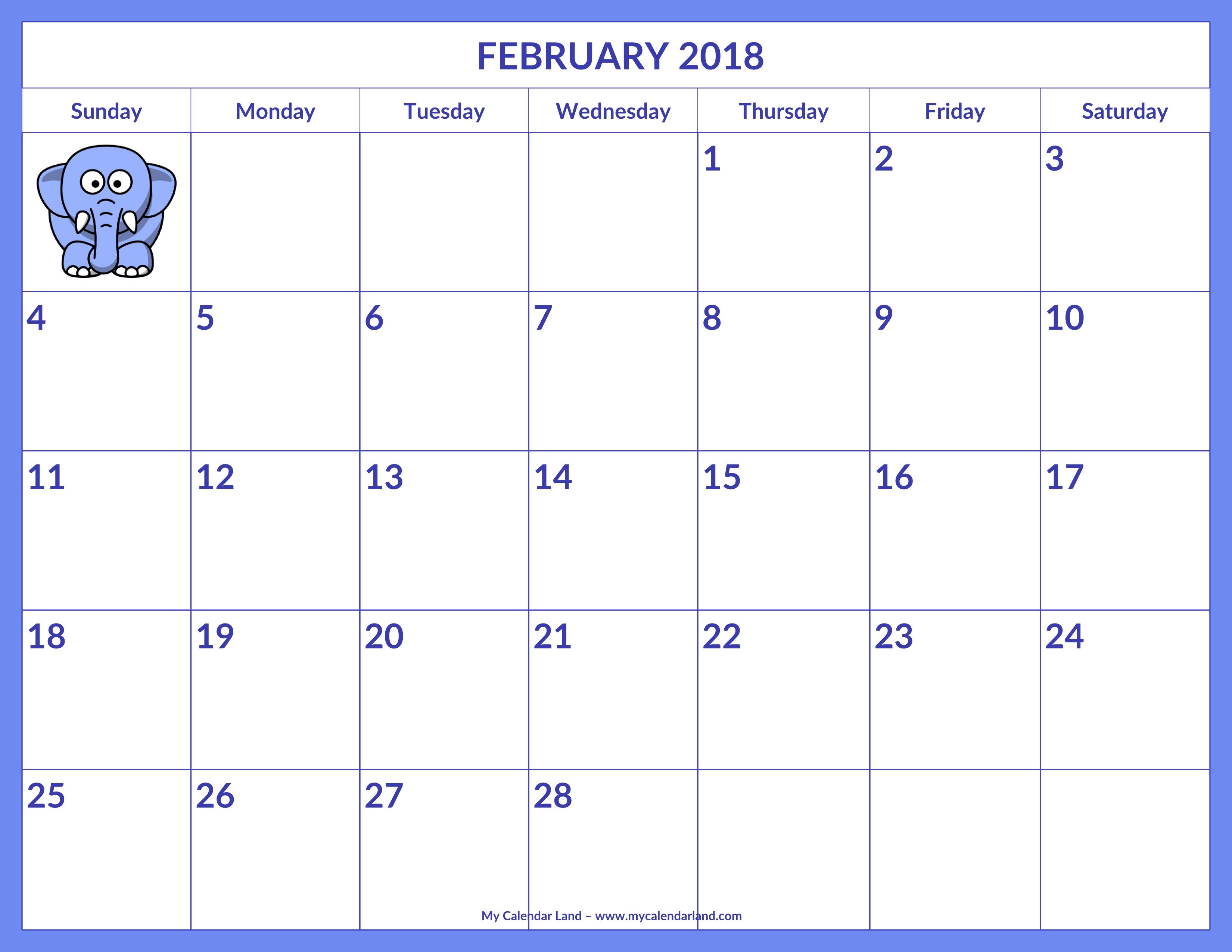 Menu My Calendar Land  Xjb