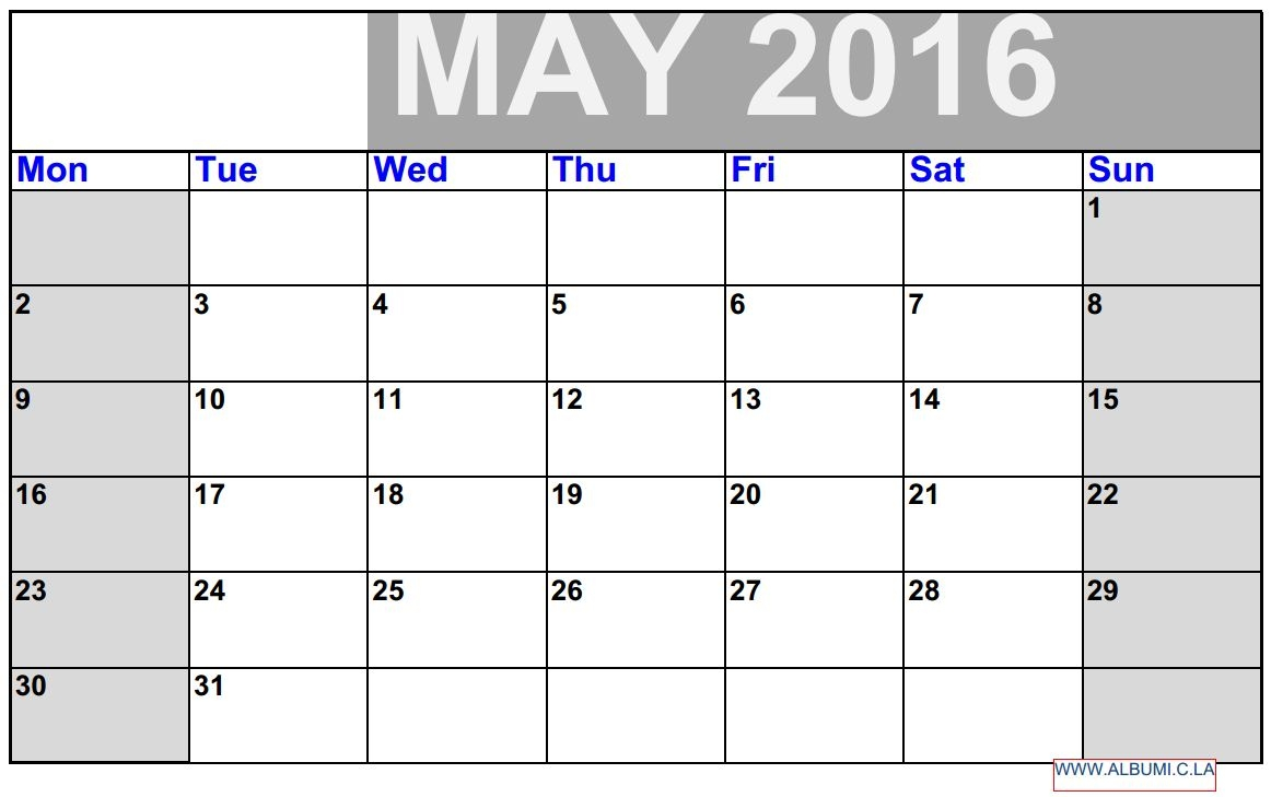 Monthly Calendar With Time Slots 2016 Printable Calendar3abry