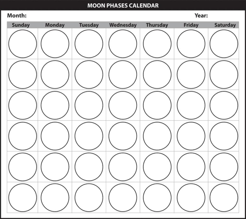 Moon Calendar Worksheet Bloggakuten Pictures Printable Online3abry