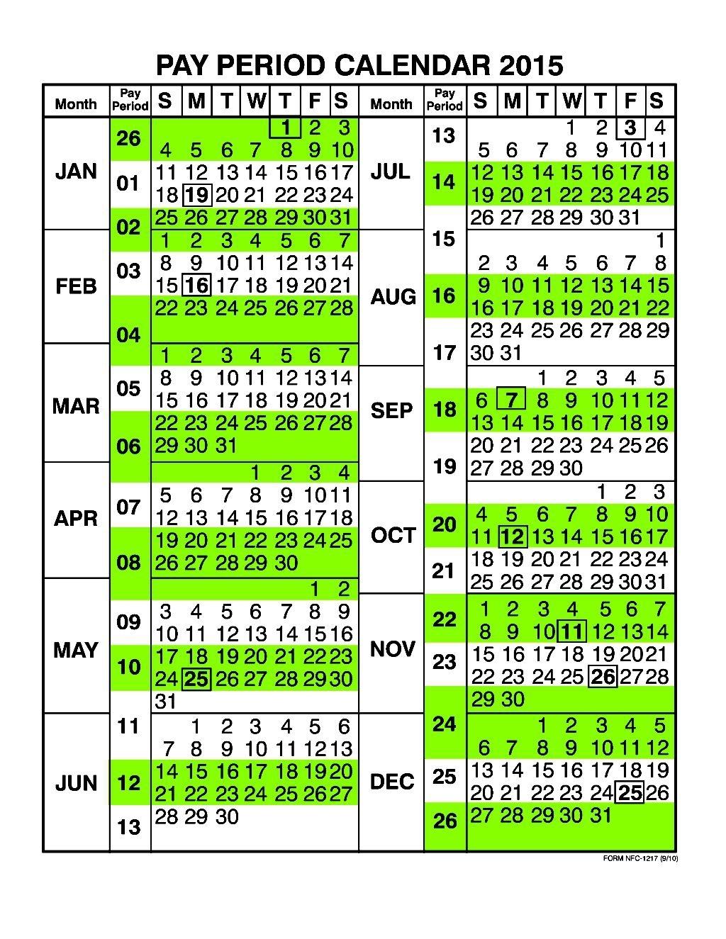 Nfc Pay Period Calendar Free Calendar Template3abry