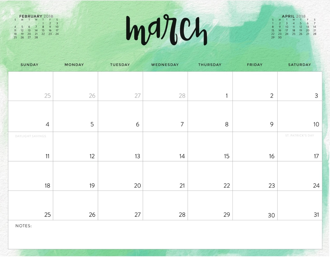 Pretty Printable Calendar Printable Calendar3abry