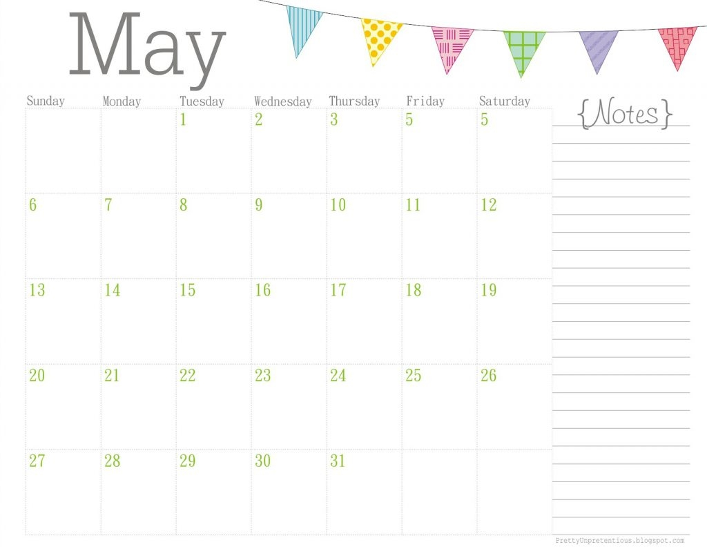 Pretty Printable Calendar Printable Calendar Templates 20183abry