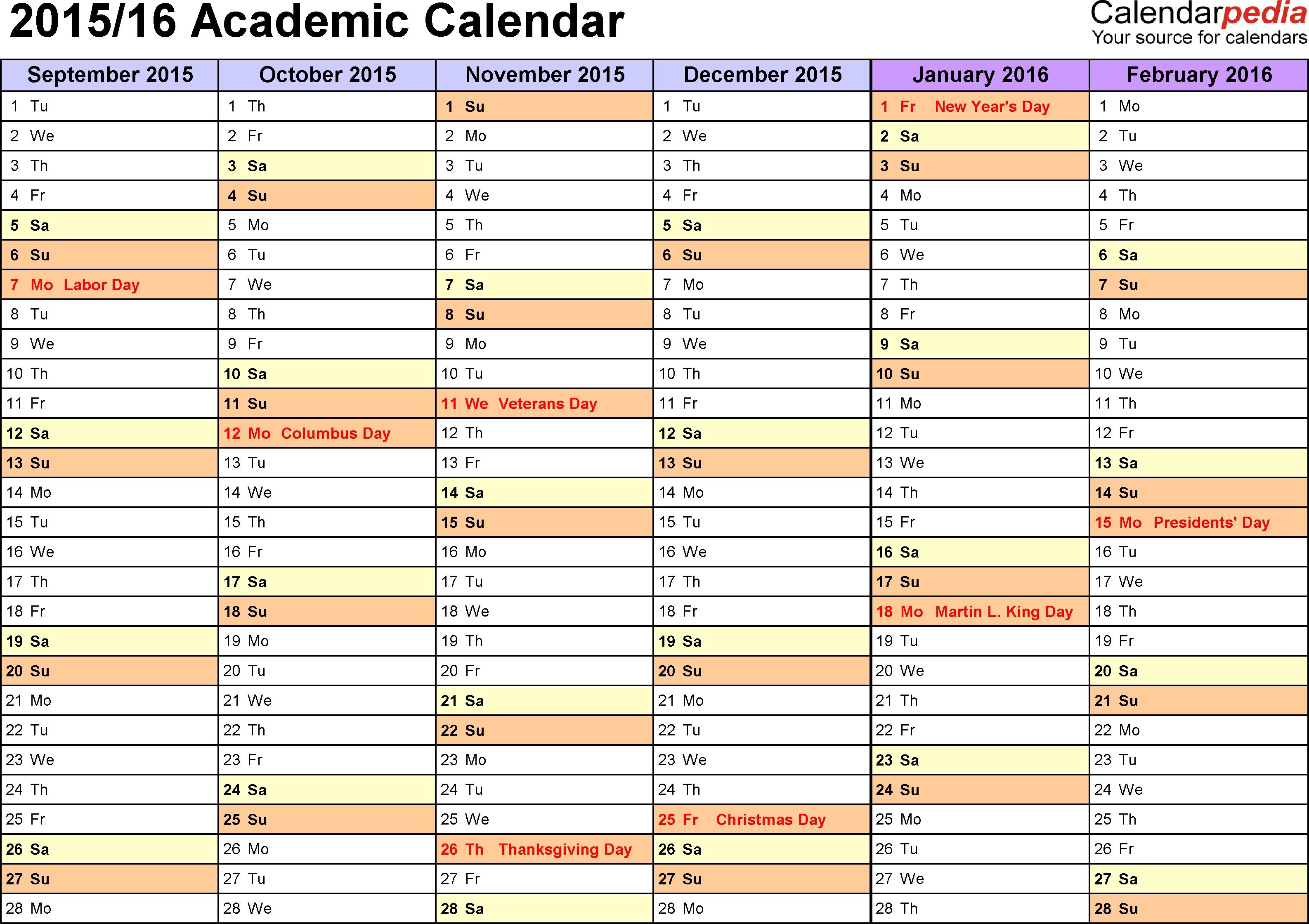 Printable Multi Month Calendar Calendar Template 2018  Xjb