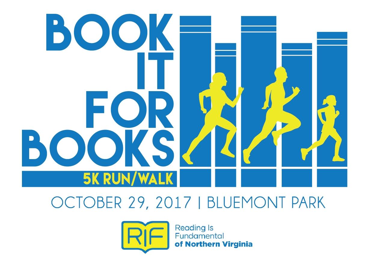 Register For The 2017 Book It For Books 5k Potomac River Running3abry