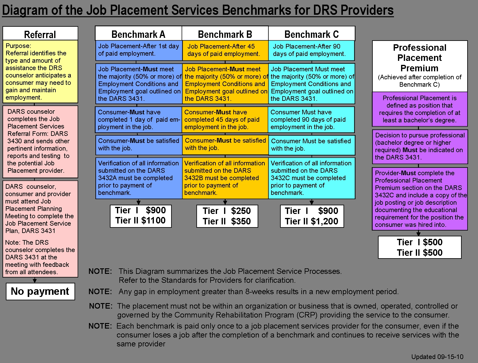 Rsd Standards For Providers Chapter 8 Standards For Employment3abry