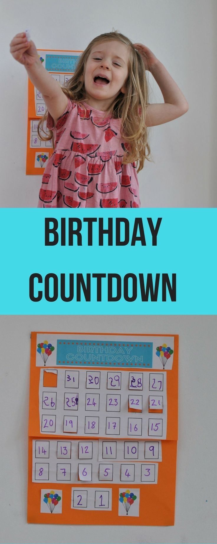 The 25 Best Printable Countdown Calendar Ideas On Pinterest  Xjb
