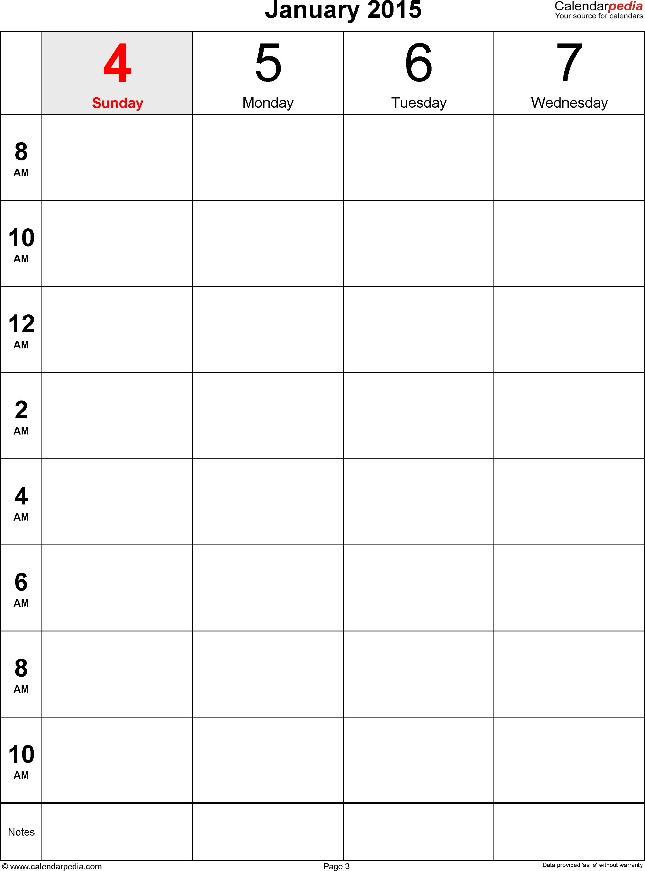Time Calendar For 2 Days Calendar Template 2017  Xjb