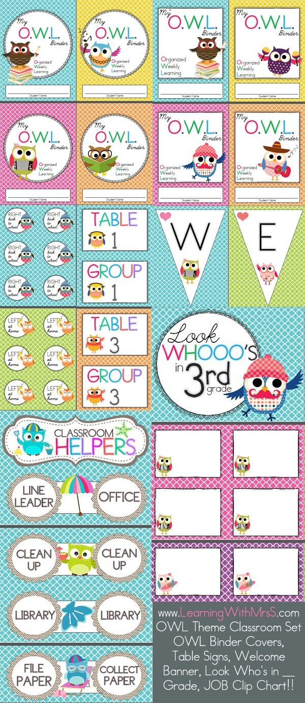 Wise Owl Factory Calendar Headers Calendar Template 20173abry