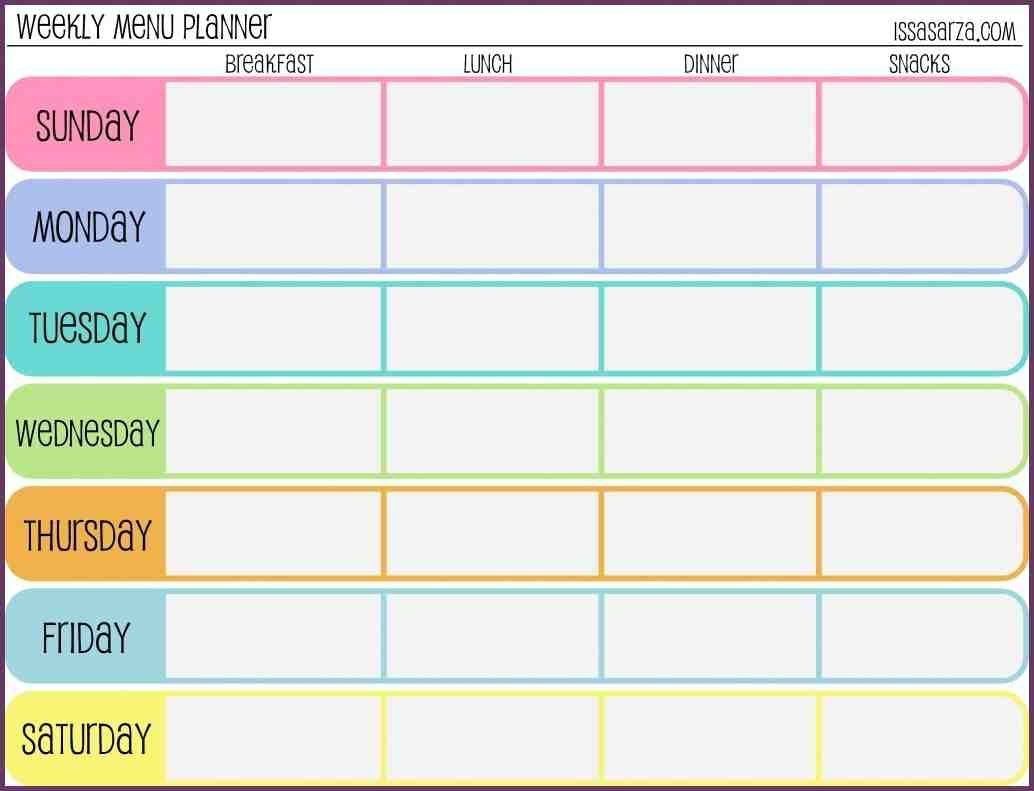 Workout Calendar Template Suitable Impression Weekly Schedule  Xjb