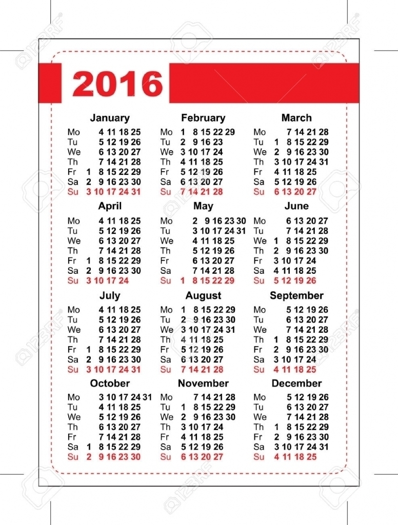 2016 Calendar With Julian Days Numbered Calendar Printable 2018  Xjb