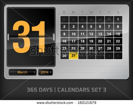 31 Day Month Stock Images Royalty Free Images Vectors