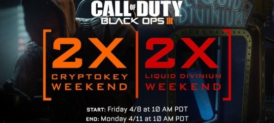 Call Of Duty Black Ops 3 Double Xp Weekend For Cryptokeys Liquid