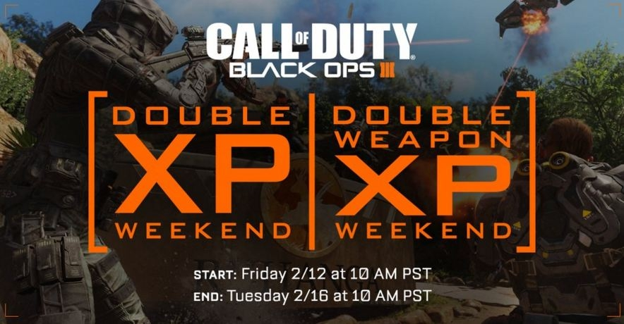 Call Of Duty Black Ops 3 Gets First Ever Double Double Xp Weekend