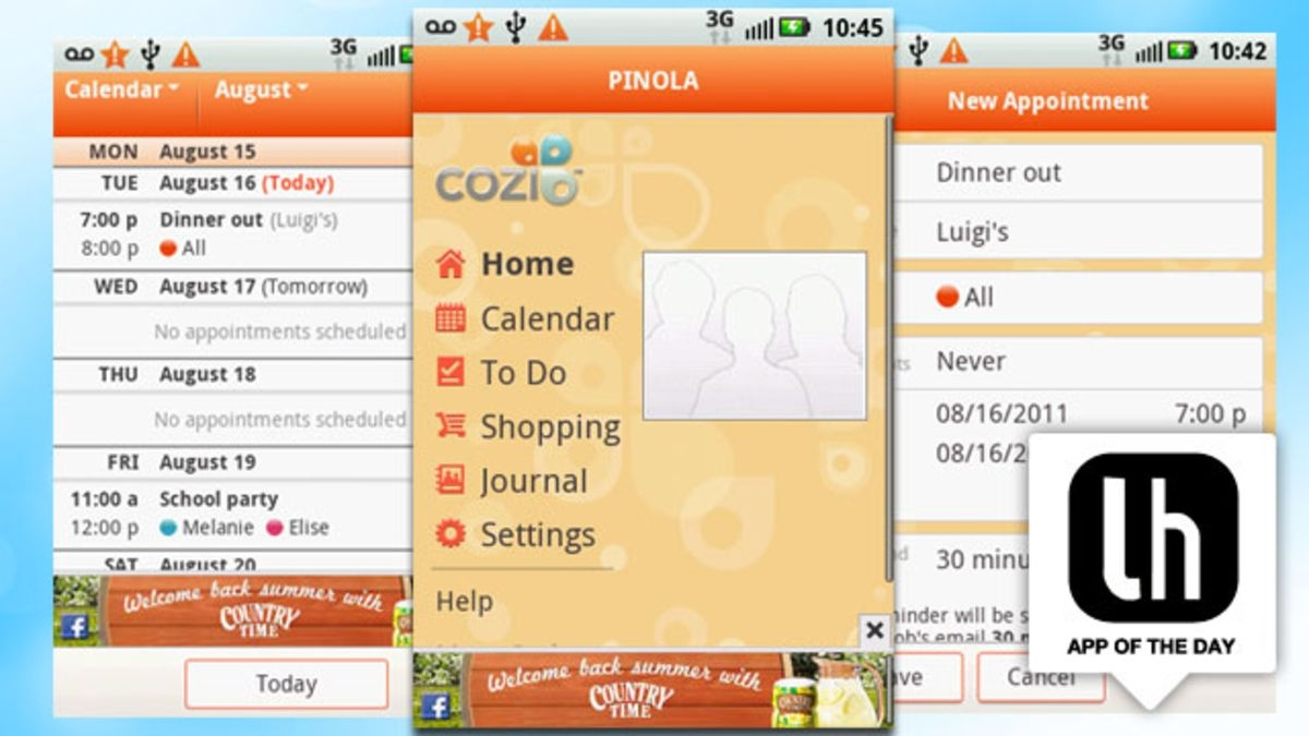 Cozi Family Organizer Keeps Your Family Life In Sync On The Web3abry