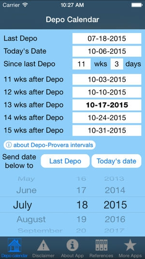 Depo Calendar On The App Store