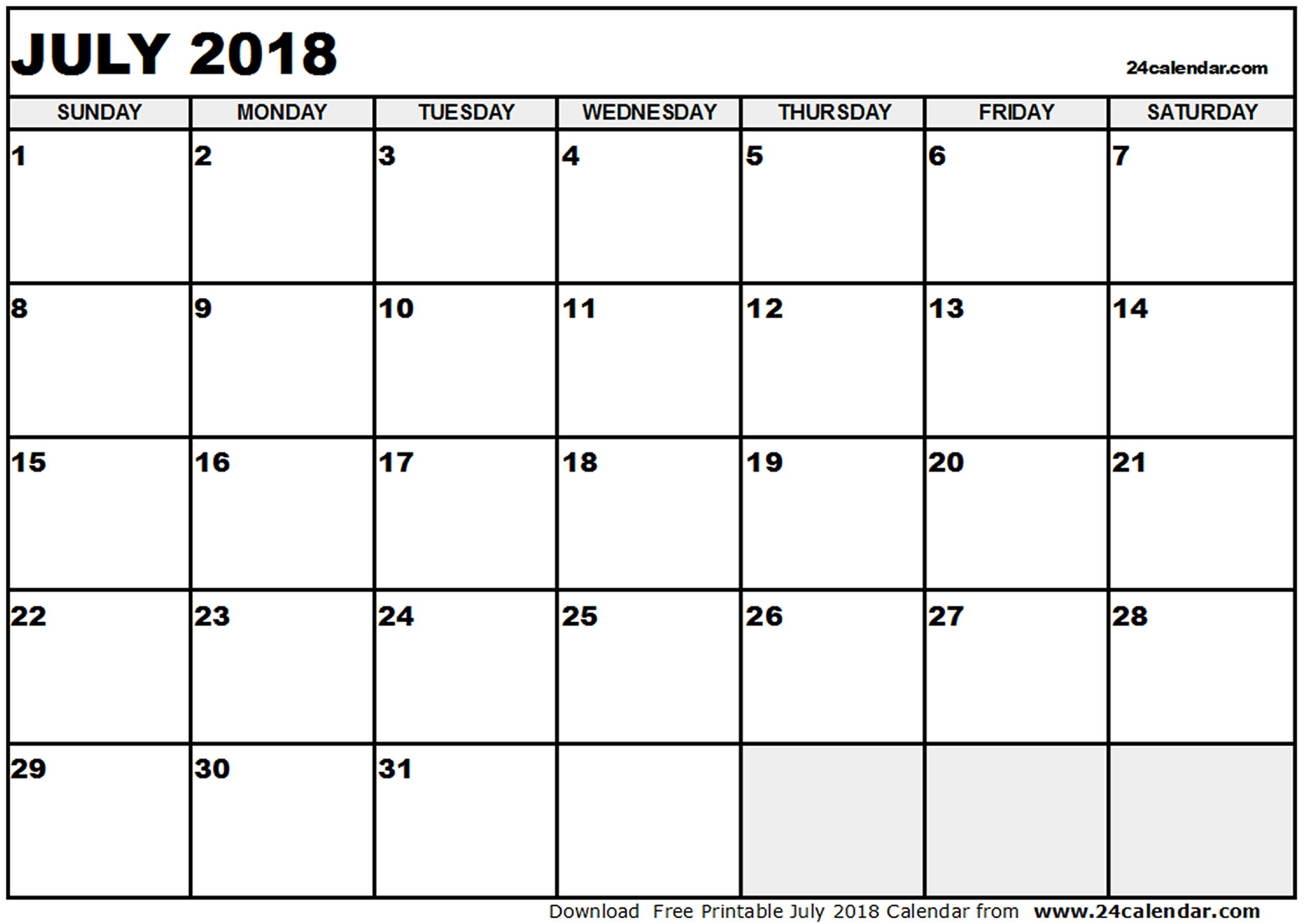 Editable Calendar July 2018 Endore Enhance Dentalco3abry