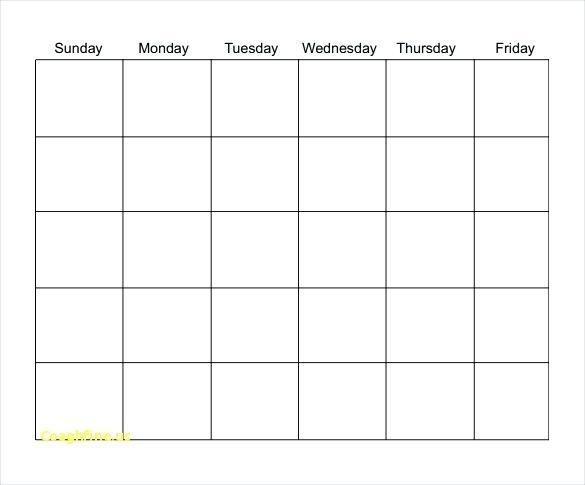 Free Blank Calendar To Free Printable Blank Calendar Template Free