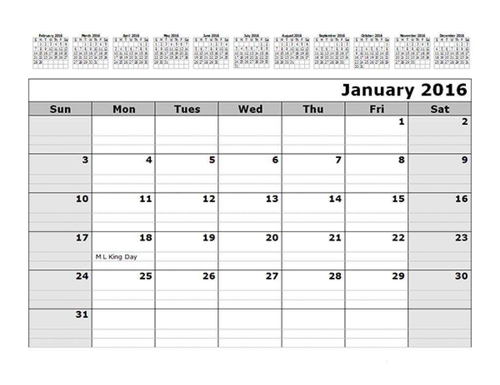 Free Printable Monthly Calendar With Lines Printable Calendar