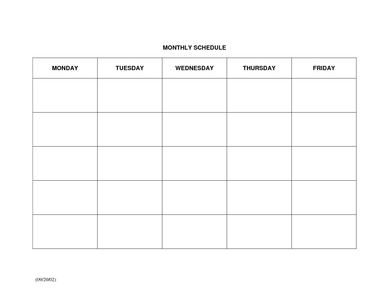 Free Weekly Calendar Domosenstk3abry