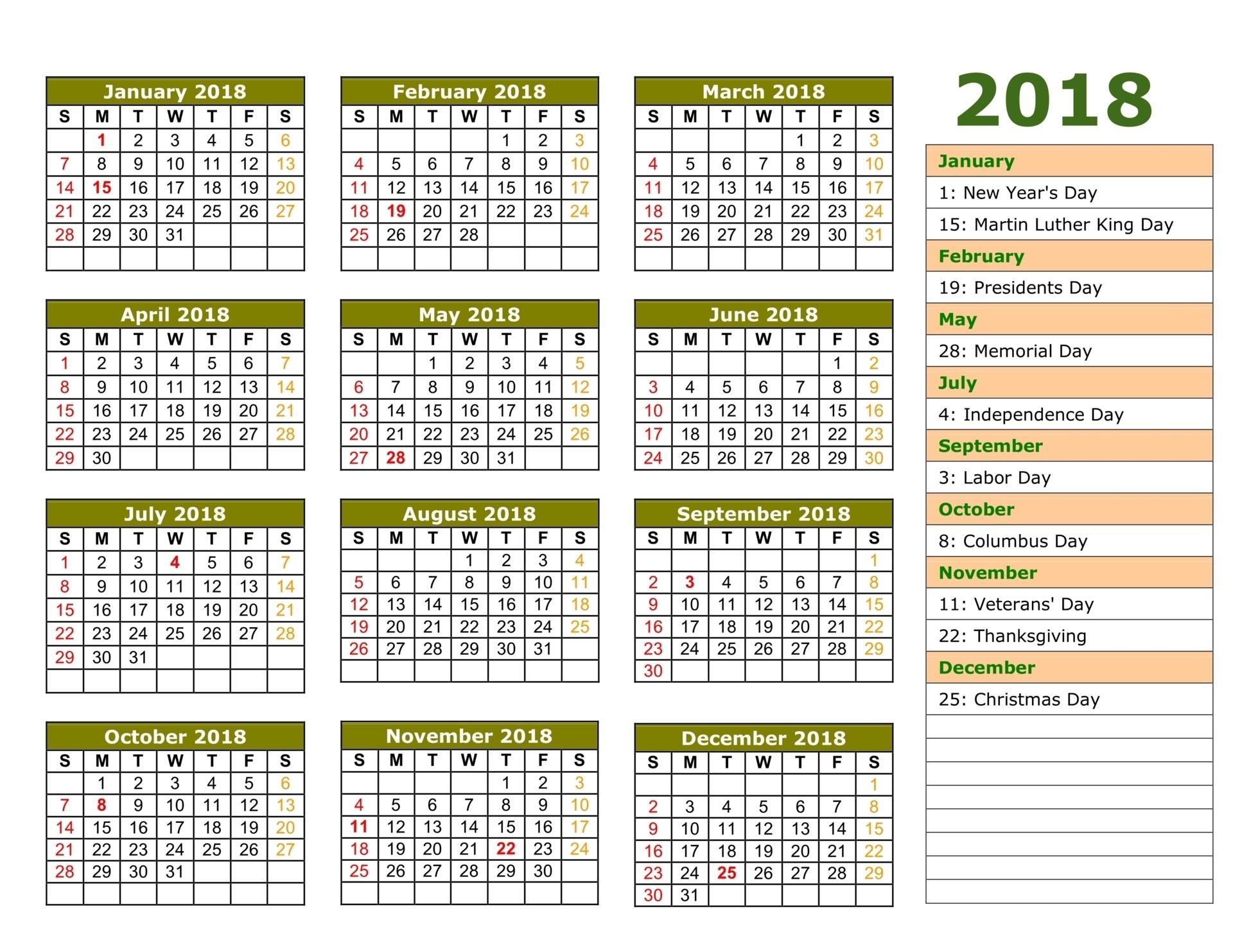 Islamic Calendar 2018 Printable Calendar Templates