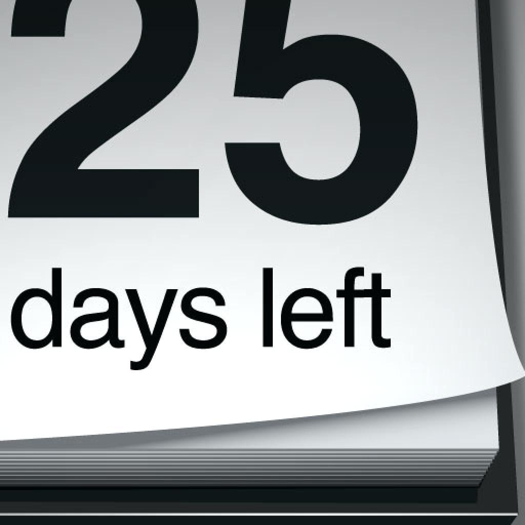 Retirement Calendar Countdown Printable Printable Calendar  Xjb