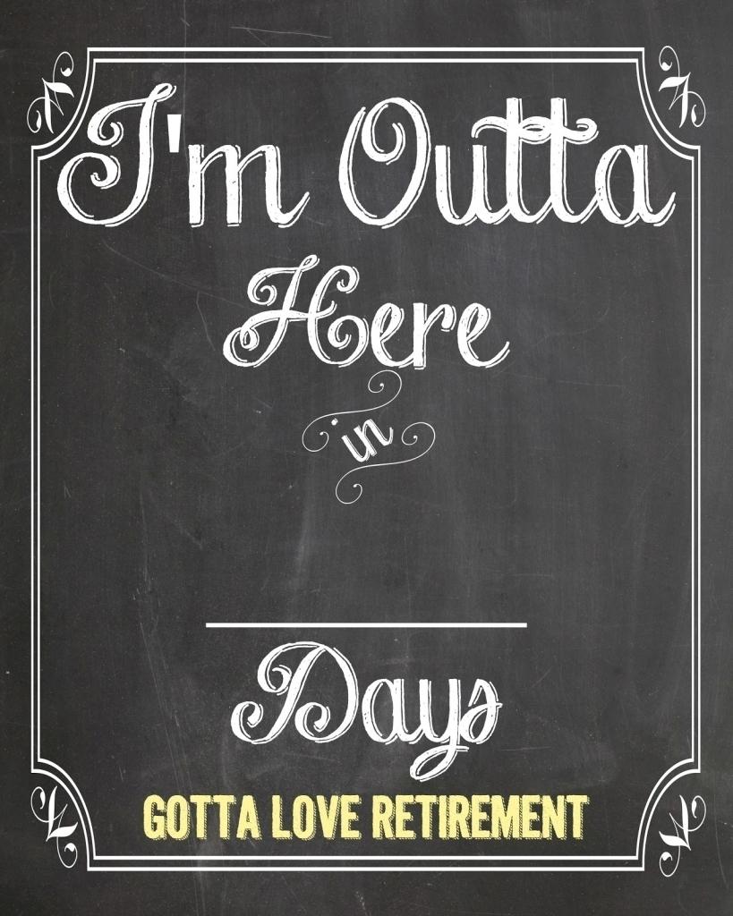 Retirement Countdown Calendar Printable Online Calendar Templates3abry