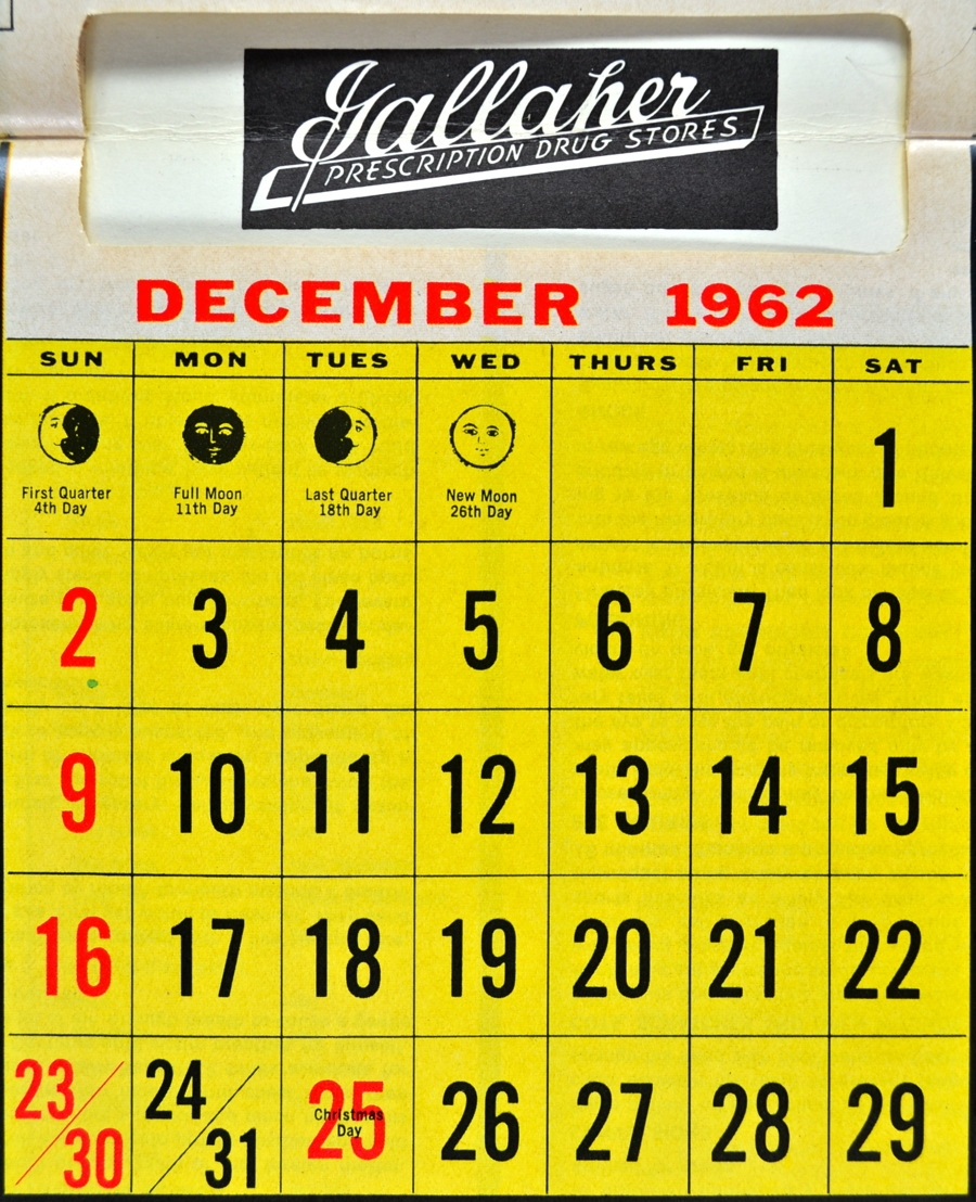 Scanning Around With Gene The Death Of Free Calendars And Local3abry