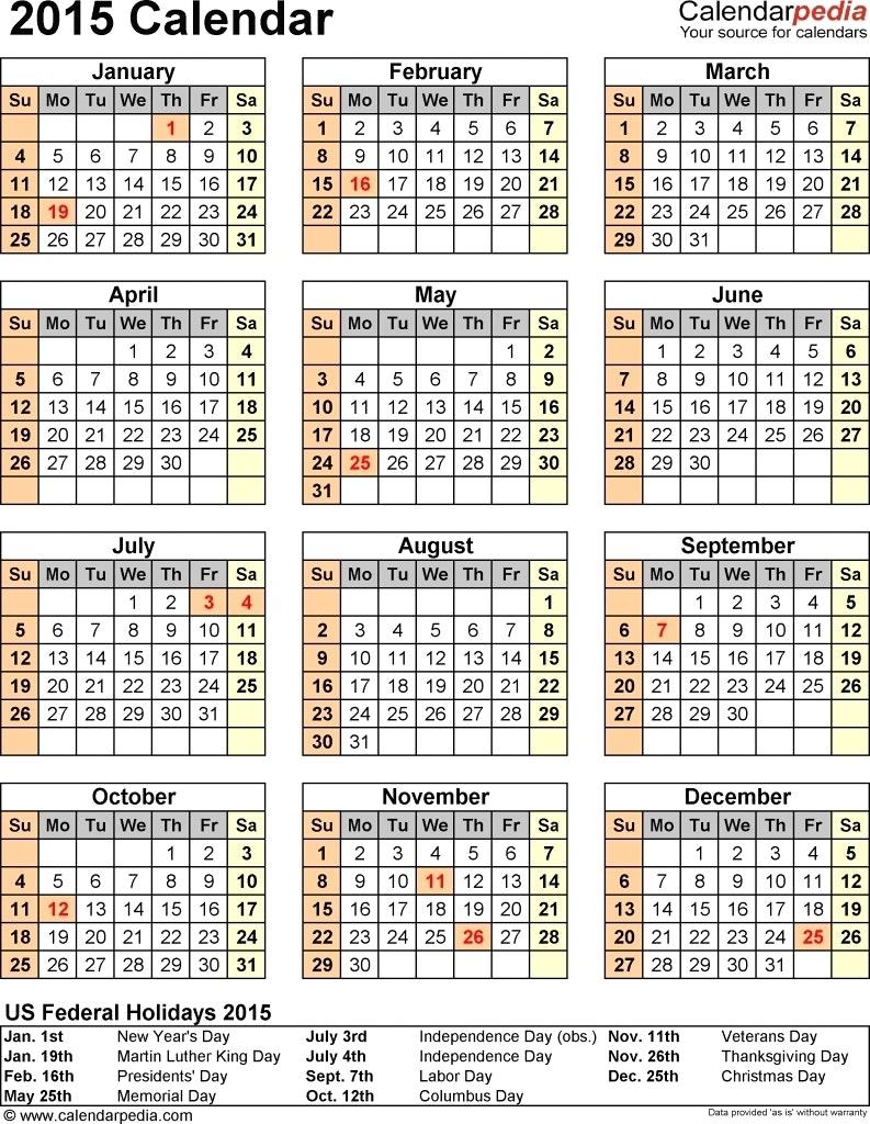 Understated Calendar Template For Publisher Calendar Printable