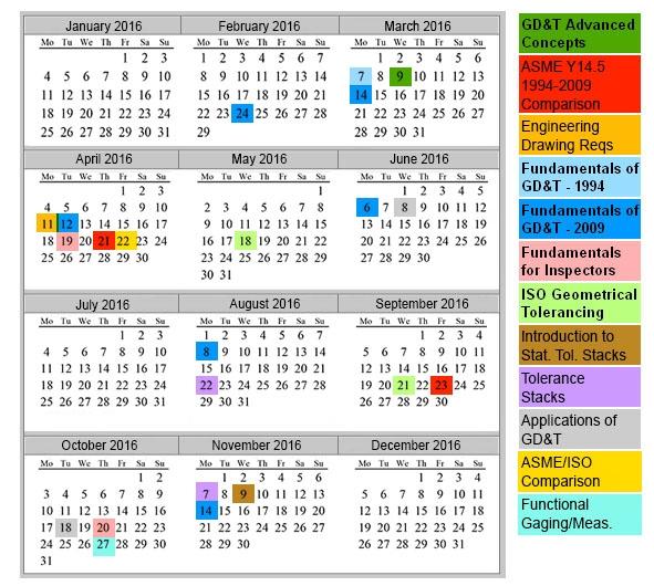 16 Workshop Calendar Available Effective Training Gdt Blog