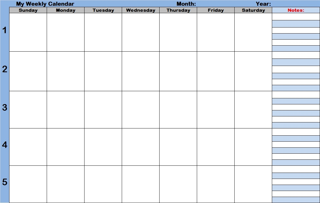 25 Images Of Weekly Calendar With Time Slots Template Helmettown