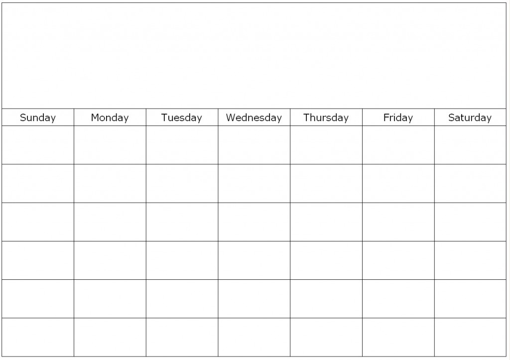 4 Week Calendar Template Savebtsaco