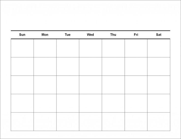 66 Best Calendar Template Printable Images On Pinterest Calendar