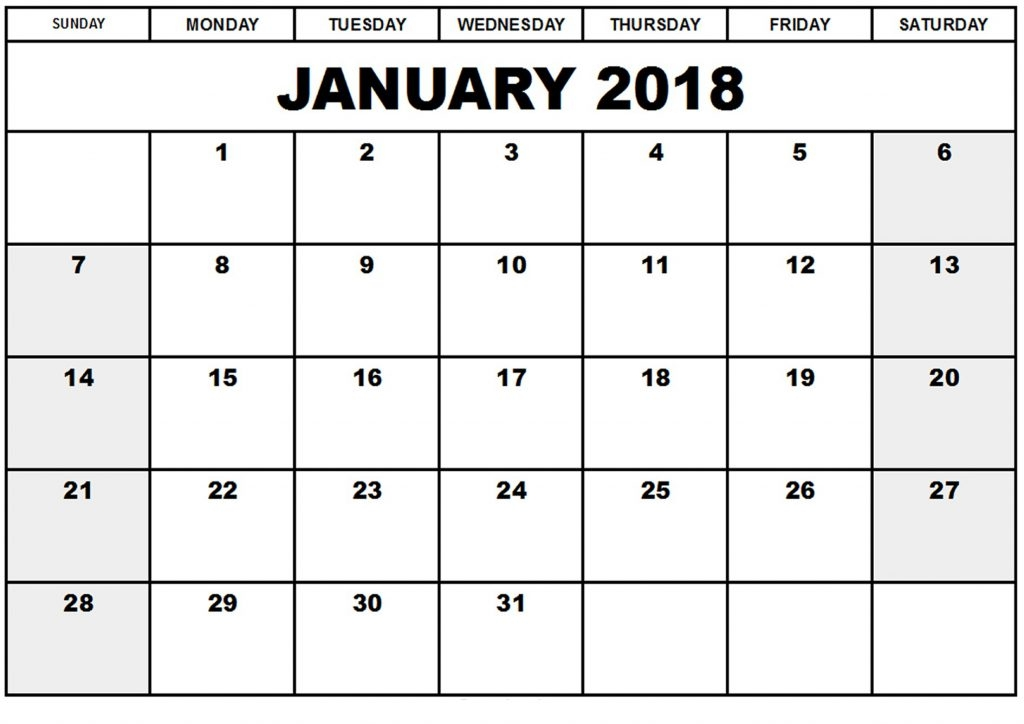 Aol Printable Calendar Calendar 2018