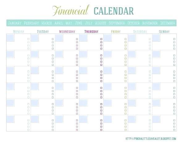 Bill Payment Template Bill Pay Calendar Template Calendar Picture