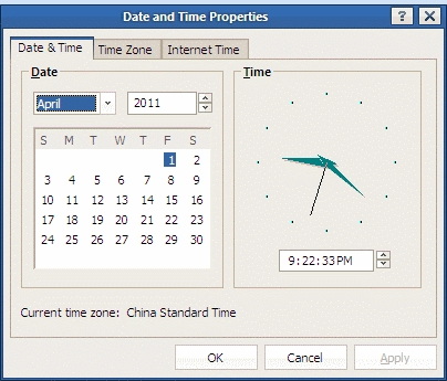 Date Time Change Default Calendar Starting Weekday In Windows Xp