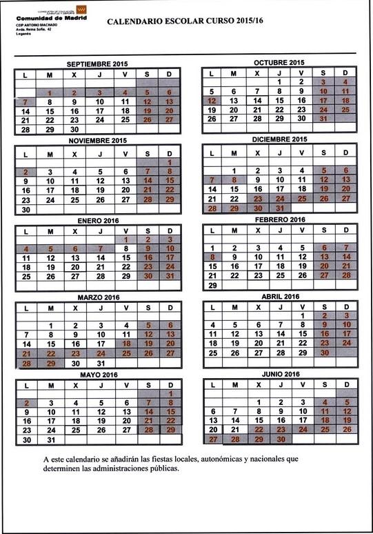 Depo Shot Calendar For