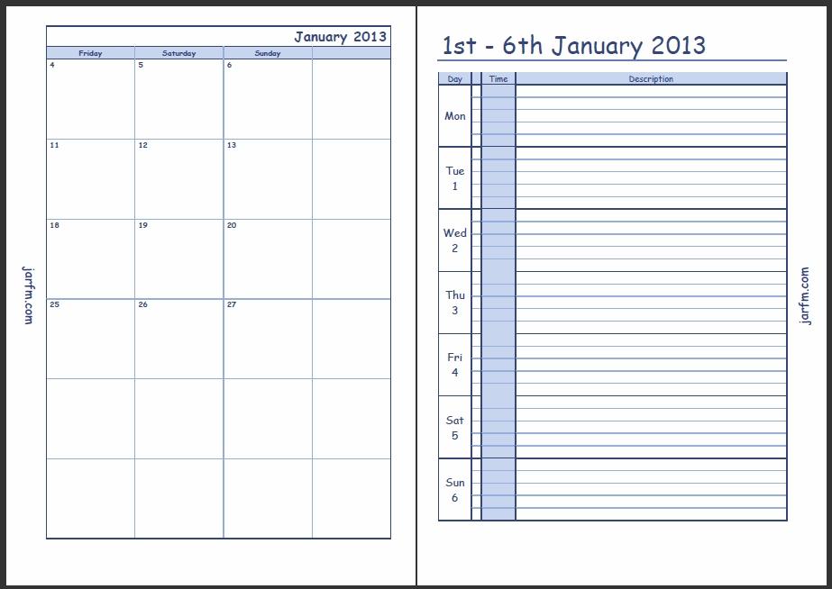 Free Printable Weekly Calendar With Time Slots Ivedipreceptivco