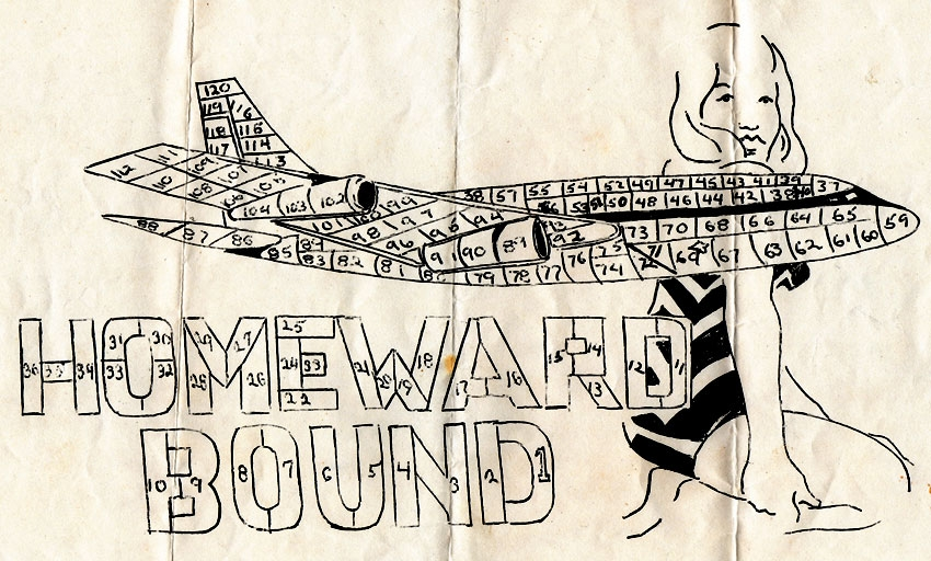 Homeward Bound Vietnam Short Timers Calendar Letters To Larry