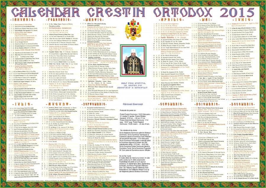 Ortodox 2015 Ce Sfini Srbtorim Astzi