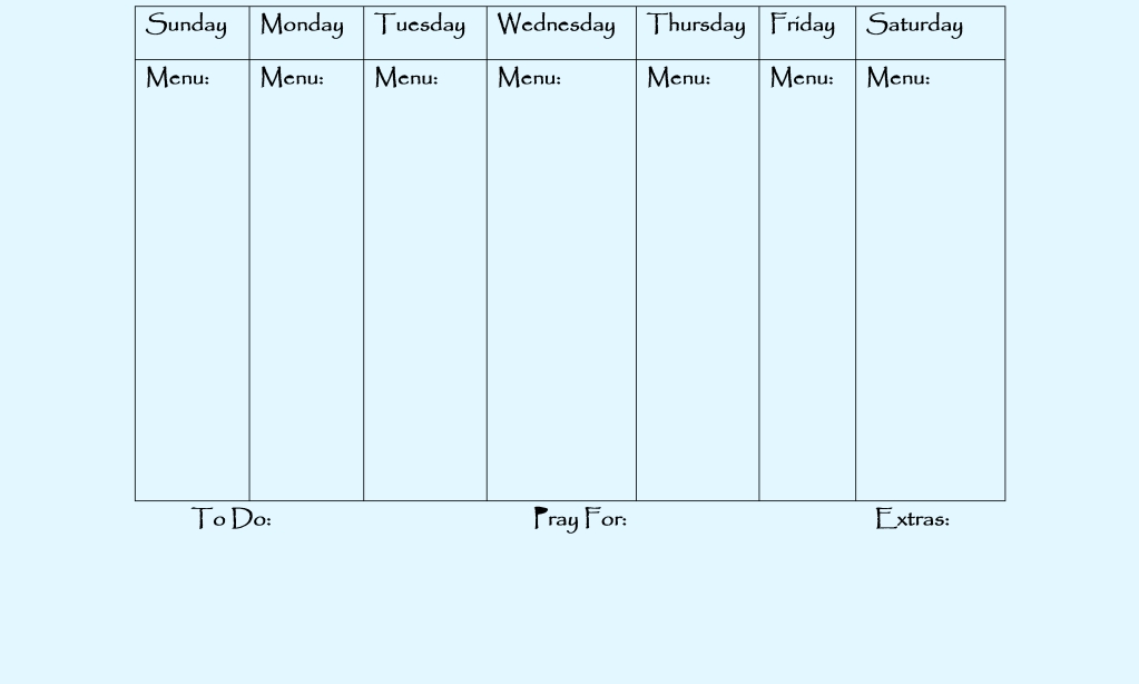 Week Week Calendar Calendar Template 2018