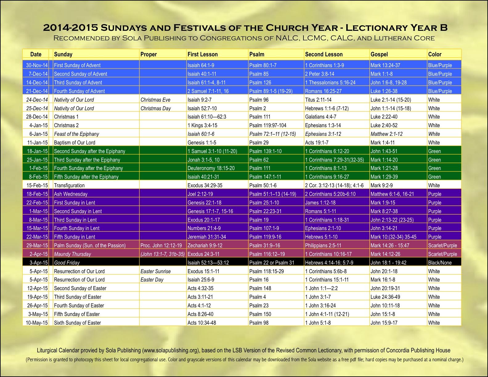 25 Images Of Church Calendar Template 2015 Diygreat